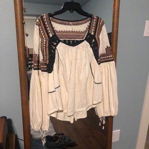 Free People- bohemian blouse